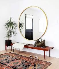 possibilities of using a round mirror