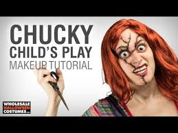 child s play chucky makeup tutorial