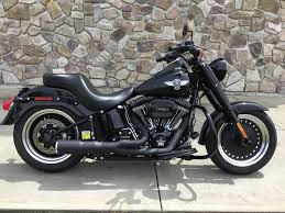 used 2016 harley davidson fat boy lo