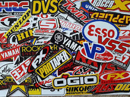 Motocross Dirt Bike Motorcycle And Car Racing Decal Vinyl Sticker 80 Pcs Mt001 Ebay