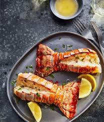 Lobster Tails with Lemon-Garlic Butter ...