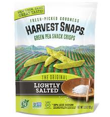 harvest snaps nutrition facts calbee