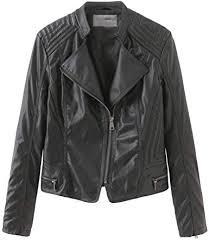 ularma leather jacket women cropped