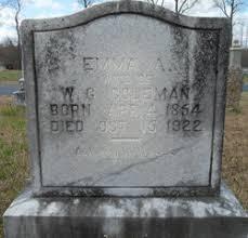 Emma Abigail Fowler Coleman (1854-1922) - Find A Grave Memorial