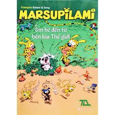 Truyện tranh - Marsupilami tập 2 - Em bé đến từ bên kia thế giới ...