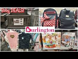 deals at burlington baby department