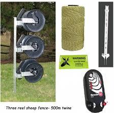 Three Reel 500m Sheep Kit Electric Fencing Electric Fencing Kits Sheep Kits Farmcare Uk Farmcareuk Com