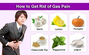 relief from stomach gas problem try