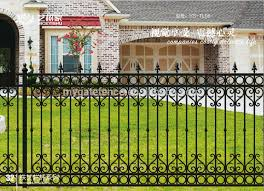 Unique Wrought Iron Fence Design Luxury Iron Fencing Designs View Chain Link Fence Yishujia Product Details From Shijiazhuang Yishu Metal Products Co Ltd On Alibaba Com