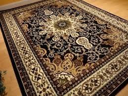 persian style black gold oriental