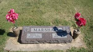 100 - Hilda L. Marshall - Grace Hill Cemetery - Perry, OK - Headstones of  Centenarians on Waymarking.com