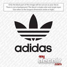 Adidas Trefoil Logo Decal Sticker Anydecals Com