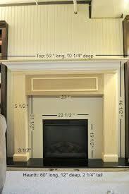 fireplace surround diy