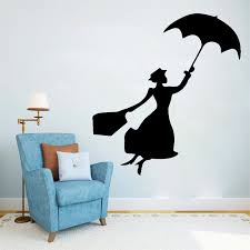 Stylish Lady Wall Sticker Umbrella Beautiful Woman Vinyl Wall Decals Living Room Art Home Decor Girl Women Rooms Decal Mural Buy At The Price Of 1 65 In Aliexpress Com Imall Com
