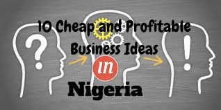 10 and lucrative businesses to