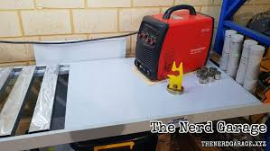 the garage diy welding bench the