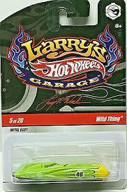 Hot Wheels Larrys Garage Wild Thing Green W Rrs Chase Ebay