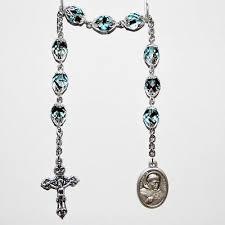 st albert the great rosary chaplet 8mm
