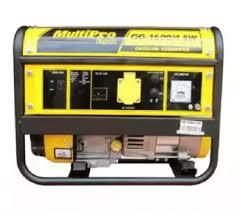 Multipro Gasoline Generator / Genset 4tak 1000 watt GG-1600/4SW ...