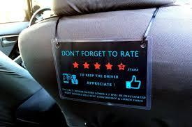 Uber Lyft 5 Star Feedback Sign Decal Display Sticker Logo For Rideshare Auto Driver Rideshare Lyft Logo Sticker