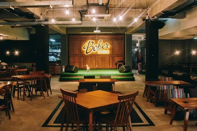 Bober Cafe Surabaya Jemursari