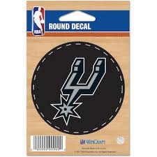 Official San Antonio Spurs Car Decals Car Decals Stickers Magnets Store Nba Com
