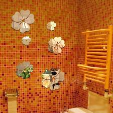 New Hot Mirror Style Flowers Removable Decal Vinyl Art Wall Sticker Ho Etzetra