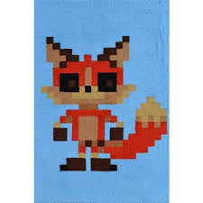 Pixel Fox Kids Area Rug Rug Shop And More