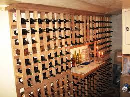 homemade wine rack cellar 2 inspiration