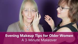 evening makeup tips for older women a