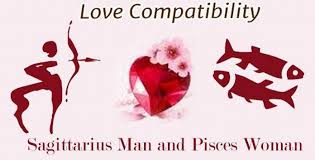 sagittarius man and pisces woman love