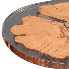 chair company round beech resin table top
