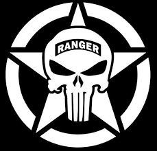 Army Star Ranger Punisher Skull Decal Vinyl Stickercars Trucks Walls Laptopwhite55 Inuri328 To View Further For T Punisher Skull Decal Skull Decal Jeep Art