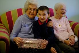 Children present special gifts to older people at Killingworth centre |  News Guardian