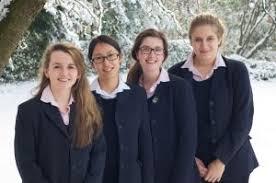 Harrogate Ladies' College celebrate Oxbridge success.