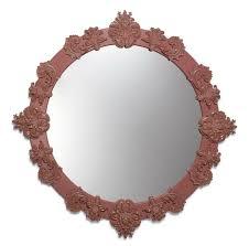 round mirror large red lladro usa