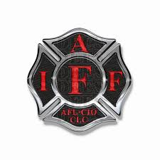 Maltese Cross Iaff Firefighter Decals Black Red Iaff Stickers Etsy