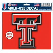 Texas Tech University Stickers Decals Bumper Stickers