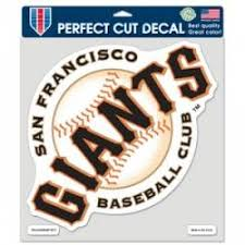 San Francisco Giants Stickers Decals Bumper Stickers