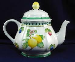 boch french garden fleurence teapot