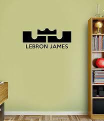 Lebron James The King Cavaliers Wall Decal Vinyl Sticker For Room Home Bedroom Home Garden Children S Bedroom Sports Decor Decals Stickers Vinyl Art Ayianapatriathlon Com