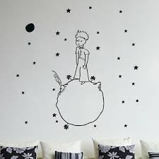 Little Prince Wall Decal Vinyl Sticker Christmas Kids Children Art Silhouette Ebay