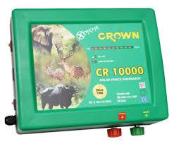 Solar Fence Energizer Cr10000 Power 650 Ma Crown Power Fencing Systems Id 7665504348