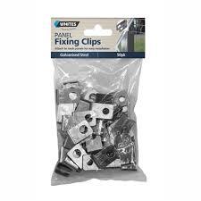 Whites Mesh Panel Fix Clip 50 Pack Bunnings Warehouse