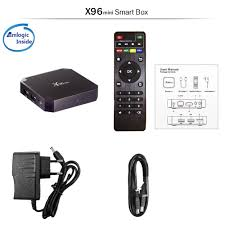 X96 mini Android 7.1 Smart TV BOX 2 +16GB Amlogic Quad Core support 4K  2.4GHz WiFi Set top box 1GB + 8GB TVBOX With Wall mounted Set-top Boxes