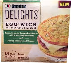 jimmy dean delights egg wich review
