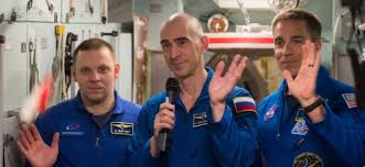 """The ISS-63 crews passed the """"test exam"""" for knowledge of the ISS 