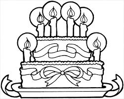 Tổng hợp 55+ mẫu tranh tô màu bánh sinh nhật đẹp nhất cho bé yêu - Tranh tô  màu cho bé