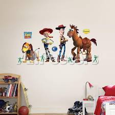 Buzz Woody And Friends Wall Decal Allposters Com