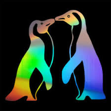 Penguin Love Funny Decal Car Window Door Bumper Laptop Vinyl Sticker Home Decor Ebay